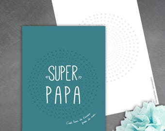 'Super Dad' card is good to have you near