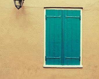 New Orleans Shuttered Window Fine Art Photograph. Photography Print. French Quarter Home Decor, Wall Art 8x10, 11x14, 16x20, 20x30, 24x30+