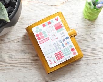 Nautical Vinyl Pocket Weekly Kit; Mini Kit; Functional Stickers; WO1P Kit; Planner Stickers; Pocket Filofax; Pocket TN Kit; Summer Kit