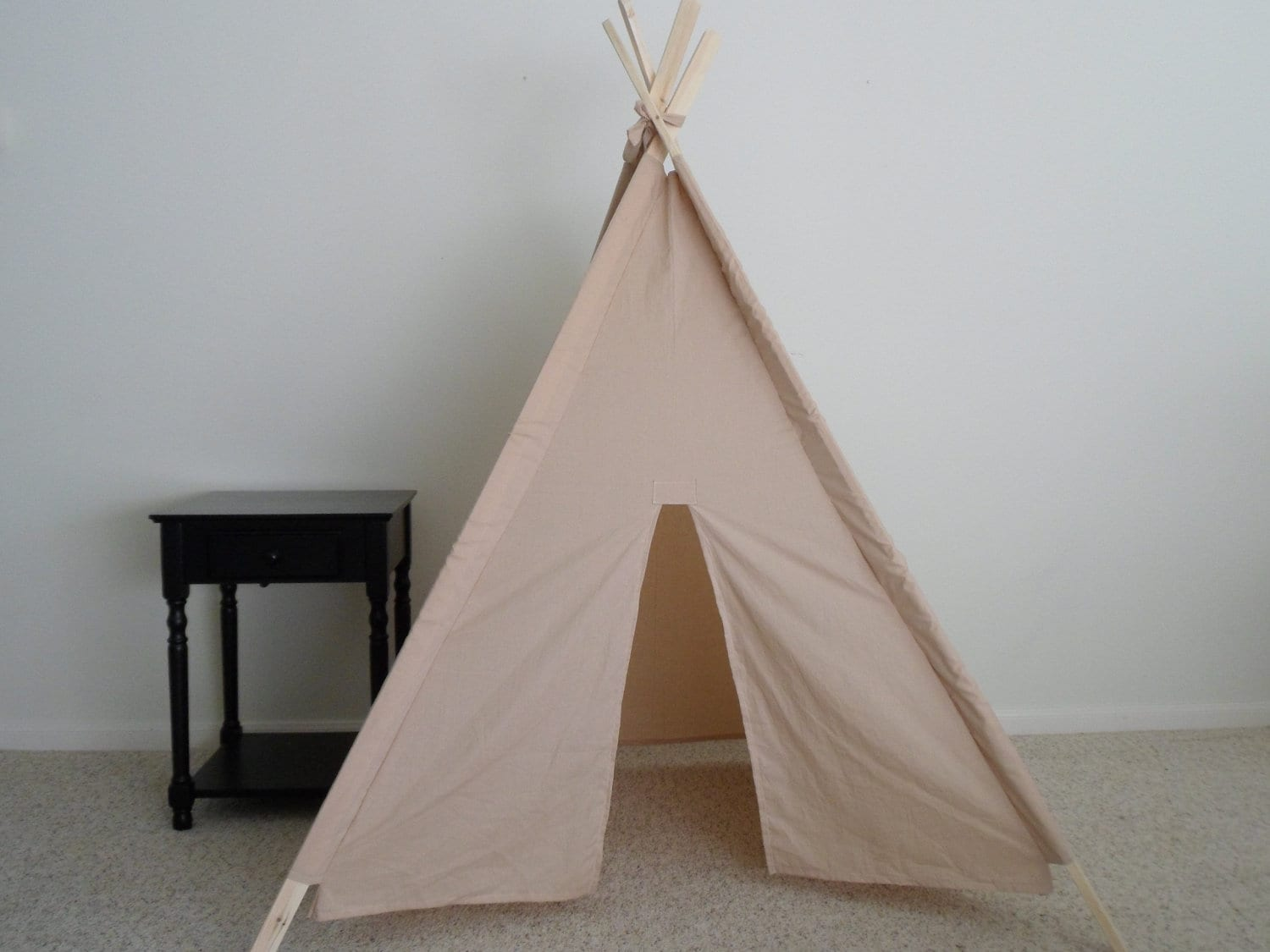 ?zoom & Tea Dyed Muslin Teepee Made to Order Kids Teepees Tent