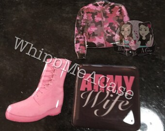Pink army wife