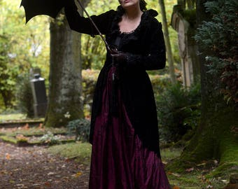 Neovictorian Velvet and Silk