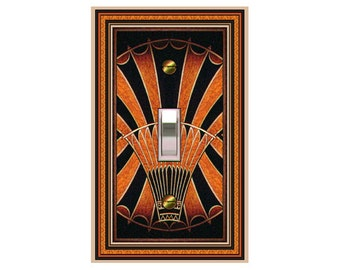 0710b Art Deco Elevator Bkgd - mrs butler switch plate covers -