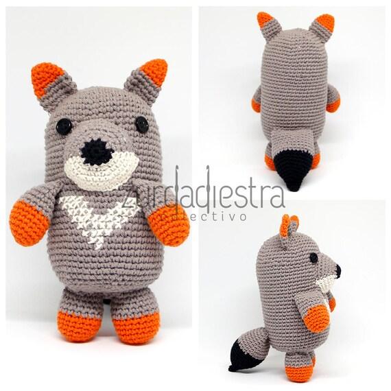Patrón para Crochet Belarmino zorro de Darwin: Tutorial