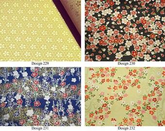 1 sheet A4 21x29.7cm Japanese Yuzen Washi Chiyogami Papers P58