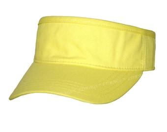 Monogram Visor | Personalized Visor | Monogram Sun Visor | Preppy Visor | Beach Golf Tennis Fishing Sports Ladies Visor | Yellow Visor