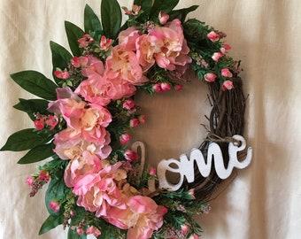 Spring Wreath - Front Door Wreaths for Spring - Summer Wreaths - Spring Door Wreaths - Summer Door Wreath - Spring Door Decor - Wreath