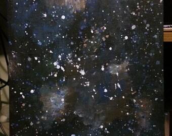Original Acrylic Space Painting