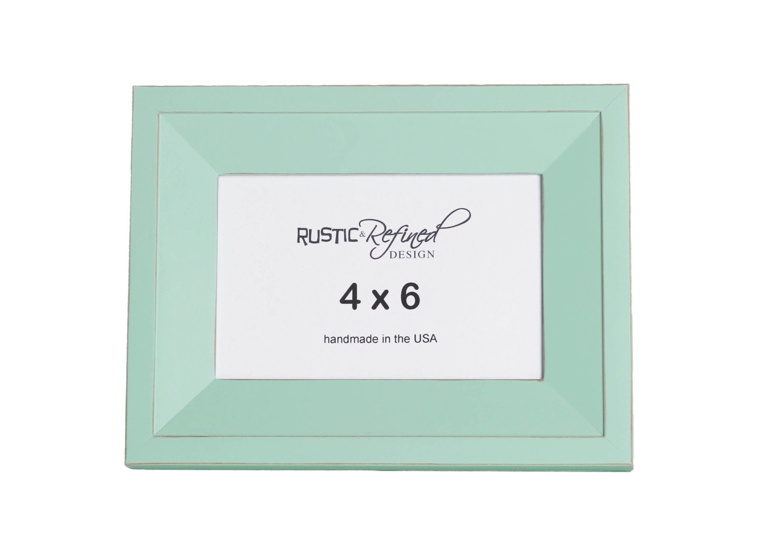 4x6 Haven Picture Frame Sea Foam Picture Frame Home
