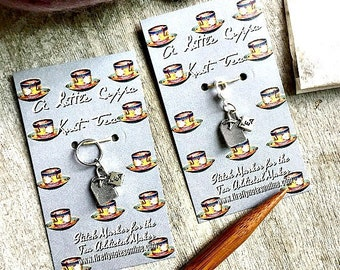 Tea bag stitch marker