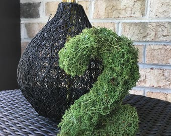 Moss Covered Table Number