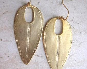 Tribal earrings,Ethnic earrings,Boho earrings,Tribal jewelry,Gold Shield Earrings,Shield Earrings,Gypsy earrings,Boho jewelry,bohemian,Boho
