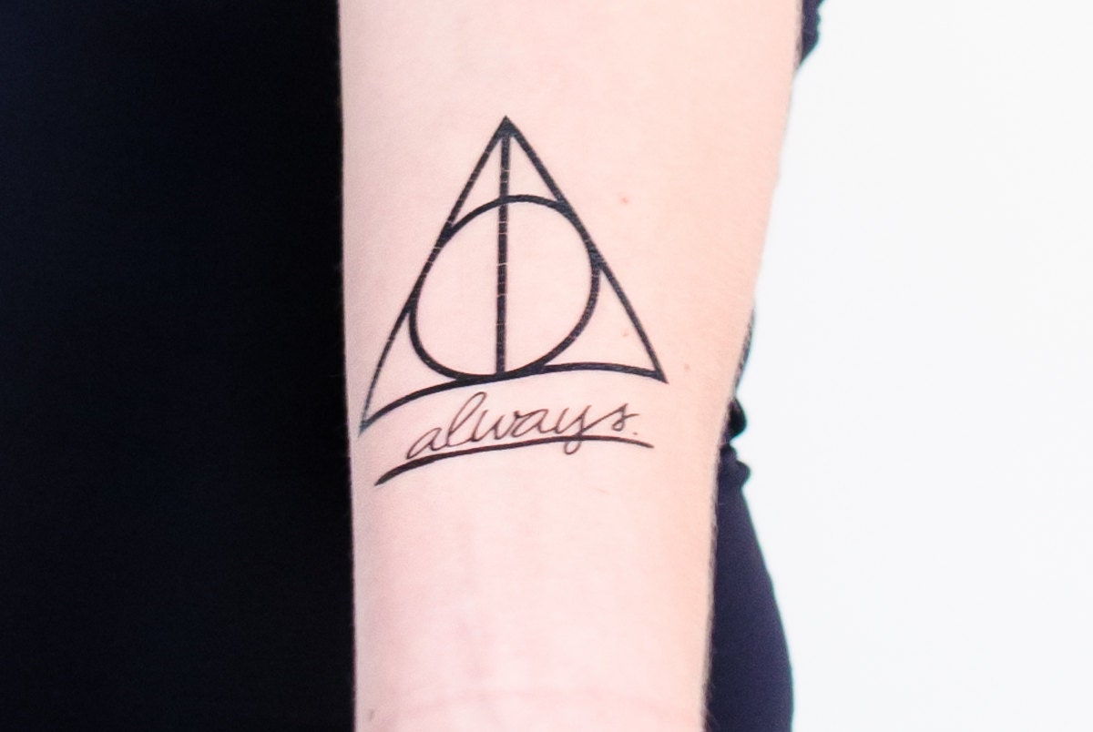 Hallows and always temporary tattoos zoom buycottarizona