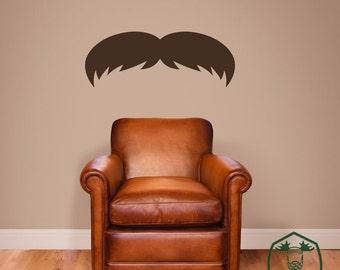 Mustache 1 Wall Decor Decal