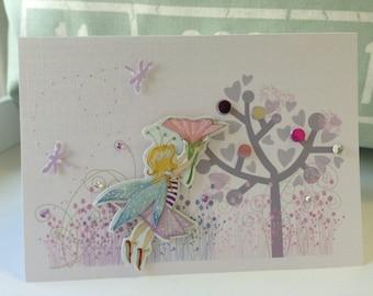 Fairy cards . Fairy birthday cards . Greeting fairy cards . All Occasion Cards  - The Fairy Kingdom