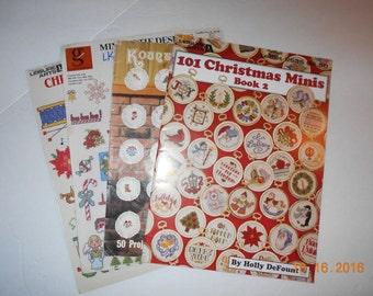 Christmas Cross Stitch Books (4)