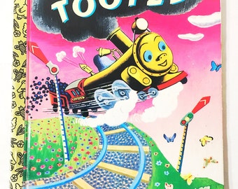 Tootle book.  Little Golden Book.   Story by Gertrude Crampton.  Illustrated by Tibor Gergely.  LGB