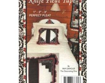 Knife Pleat Tape