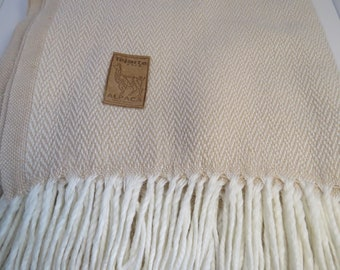 Alpaca Blanket and Throw made in Peru