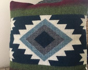 Alpaca Wool Throw Pillow Cover