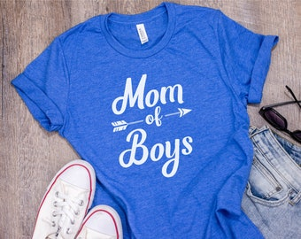 Mom of Boys Shirt - Mothers Day Gift - Mom of Boys Tshirt - Mom of Boys Outnumbered - Boy Mama Shirt - Boy Mama Tee - Boy Mama Tshirt - Gift