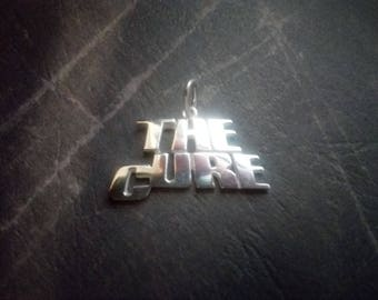 The Cure band Silver Pendant  -Dark wave ,Gothic.