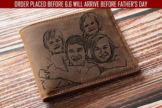Personalized Wallet for Dad