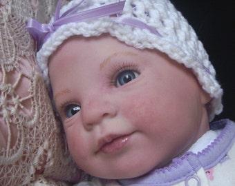 Holly Reborn Custom Doll by Donna Rubert Little Darlins Nursery Rita Meese Artist