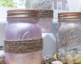 Set of 3 Mason Jar Decorations