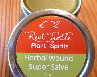 Herbal Wound Super Salve, Organic, 1 oz. tin