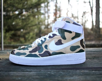 Camouflage Customized Air Force 1
