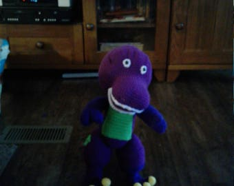 Barney the purple dinosaur