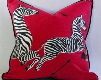 Scalamandre Zebras Pillow Cover