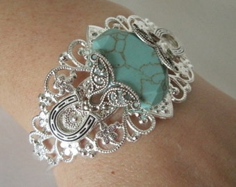 Turquoise Bracelet, southwestern jewelry southwest jewelry turquoise jewelry native american jewelry style country western cowgirl rodeo
