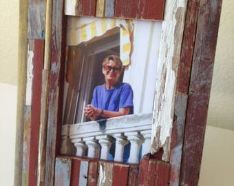 """Rustic Picture Frame: """"Giorgio"""" from RusticAndRawFrames // Picture Frames, Rustic Picture Frames, Rustic Frames, Picture Frame, Frames"""