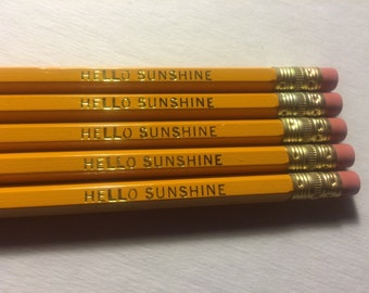 Hello Sunshine Pencil Set