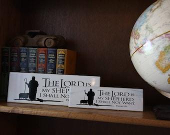 Lord is my Shepherd- Tile Decor