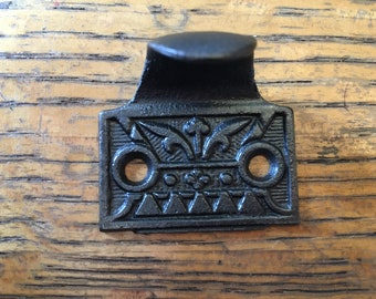 Antique Cast Iron Window Sash Lift Hardware