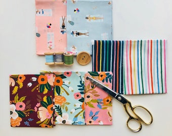 Cotton and Steel Amalfi Lawn & Rayon Collection Fat Quarter Bundle