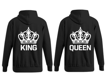 Hoodier King & Queen with Crown