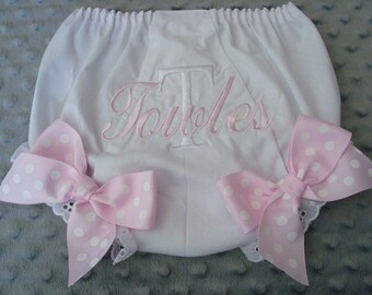 Toweles Personalized Diaper Cover - Sizes Nb through 4 Choice of Name or up to 3 initials
