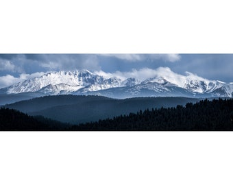 5x15in Pike's Peak