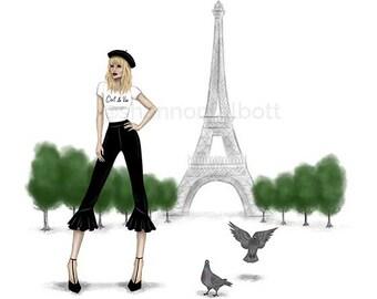 Parisian Chic Print