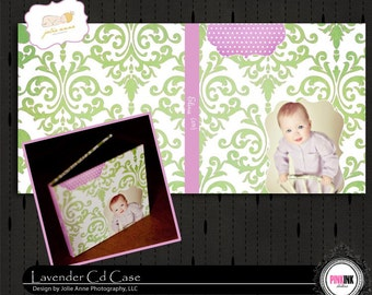 LAVENDER CD Case for Photographers