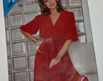 UNCUT, Vintage, Sewing Pattern, See & Sew 5013, Misses', Mock Wrap Dress, Misses' Size 8-10-12, Butterick 5013, OLD2NEWMEMORIES