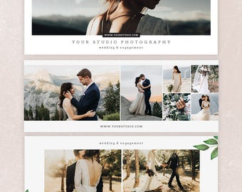 Wedding Facebook Timeline Cover Photoshop Template -  Photography Template - Facebook Timeline - FBVOL6