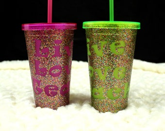 Personalized 16 oz Cold Drink Tumbler
