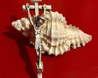 Stylish Long Italian Crucifix