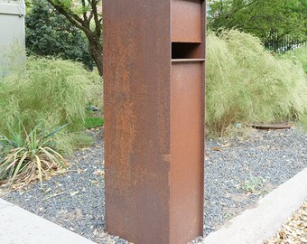 Overland Steel Mailbox - Curbside Modern Metal Letter Box