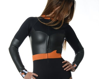 """Long Sleeves  Wetsuit """"Crabs Invasion"""""""